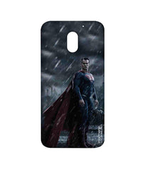 Batman Dawn of Justice Stand Tall Superman Sublime Case for Moto E3 Power