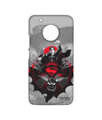 Batman Dawn of Justice Superman and Batman Rise for Glory Sublime Case for Moto G5 Plus