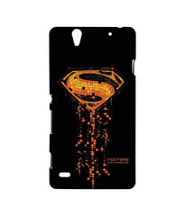 Batman Dawn of Justice Superman Mosaic Sublime Case for Sony Xperia C4