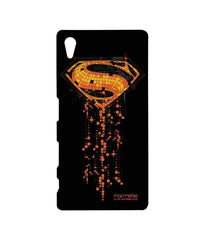 Batman Dawn of Justice Superman Mosaic Sublime Case for Sony Xperia Z5