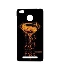Batman Dawn of Justice Superman Mosaic Sublime Case for Xiaomi Redmi 3S Prime