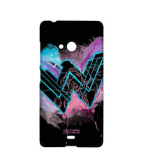 Batman Dawn of Justice Wonder Woman Splash Sublime Case for Microsoft Lumia 540