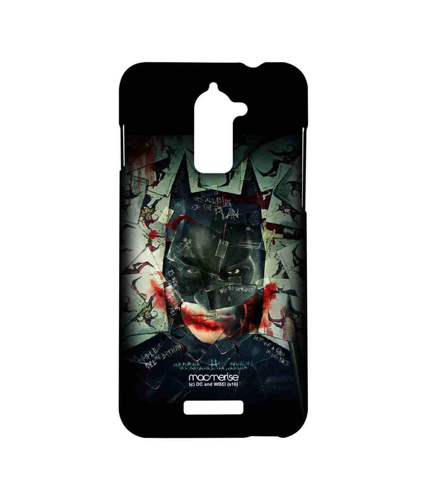 Batman The Dark Knight Batman and Joker Bat Joker Sublime Case for Coolpad Note 3 Lite