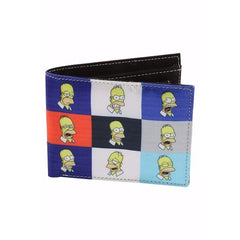 50 Shades Of Homer Satin Wallet for Men and Women - Multicolor