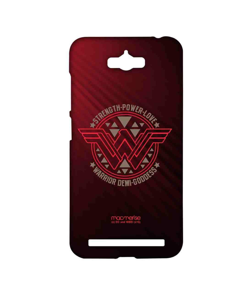 Batman Dawn of Justice Wonder Woman Stamp Sublime Case for Asus Zenfone Max