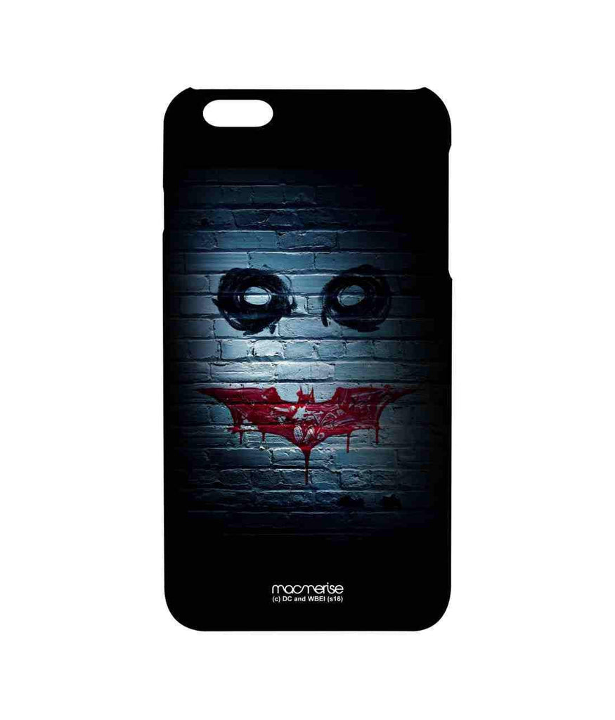Batman The Dark Knight Batman and Joker Bat Joker Graffiti Pro Case for iPhone 6 Plus