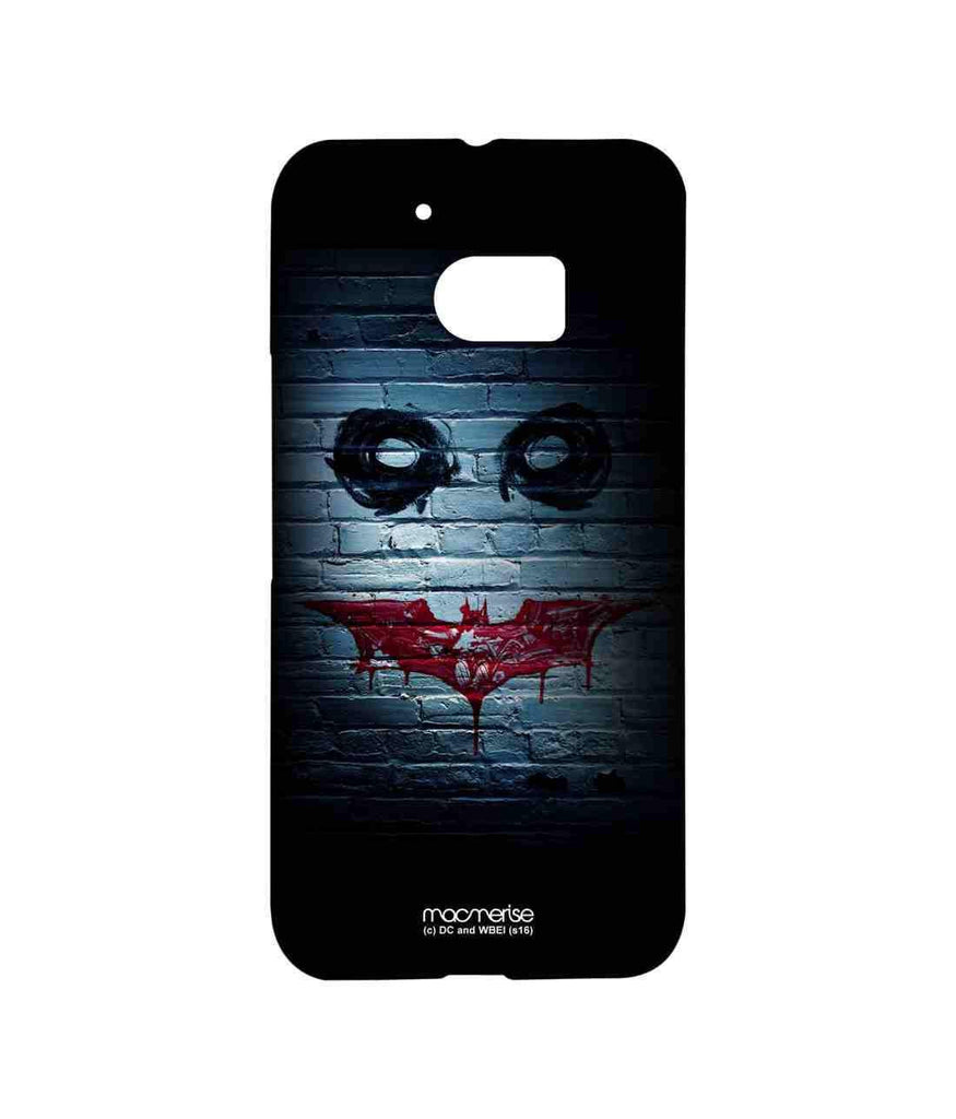 Batman The Dark Knight Batman and Joker Bat Joker Graffiti Sublime Case for HTC 10
