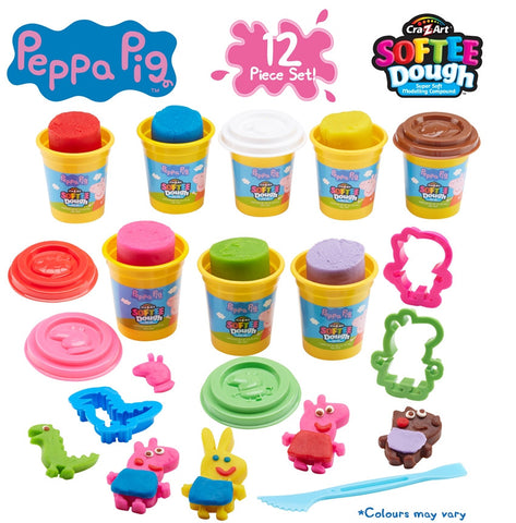 Peppa Pig Softie Playdough Playset | Planet Superheroes