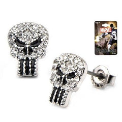 Punisher Gems Skull Studs