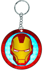 Iron Man Rubber Keychain