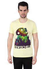 Family Guy Stewiechella Yellow T-Shirt for Men