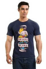 Family Guy Stewie Victory Is Mine Navy Blue T-Shirt for Men