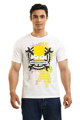 Simpsons Springfield Riding Co. White T-Shirt for Men