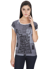 Simpsons A Nuclear Reactor Grey T-Shirt for Women