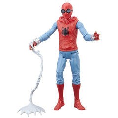 Spiderman Homecoming Old Suit Web City Action Figure - Blue and Black