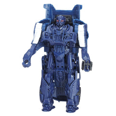 Transformers Barricade 5 in 1 Step Turbo Changers Action Figure - Multi Color