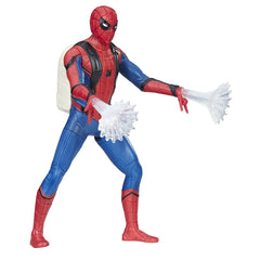 Spiderman Web City 6 Inch Feature Action Figure - Multi Color