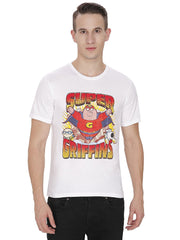 Family Guy Peter, Stewie & Brian Super Griffins White T-Shirt for Men