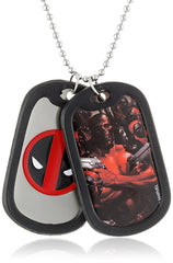 Deadpool Graphic Logo Dog Tag