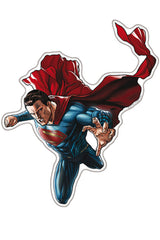 Superman Fan Emblems - On The Move Vynl Decal