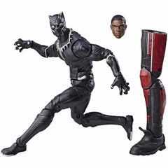 Avengers 6 Inch Legends Series Black Panther Action Figure - Multi Color