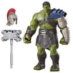 Thor: Ragnarok Interactive Gladiator Hulk Electronic Action Figure - Multi Color