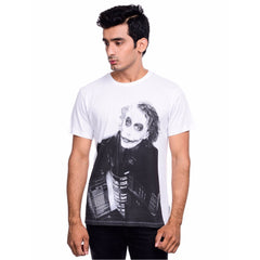 Joker City White T-Shirt for Men