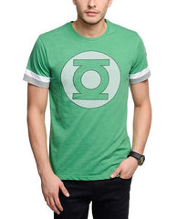 Green Lantern Logo Slate Green T-Shirt for Men