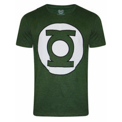 Green Lantern Logo on Chest Green T-Shirt for Men