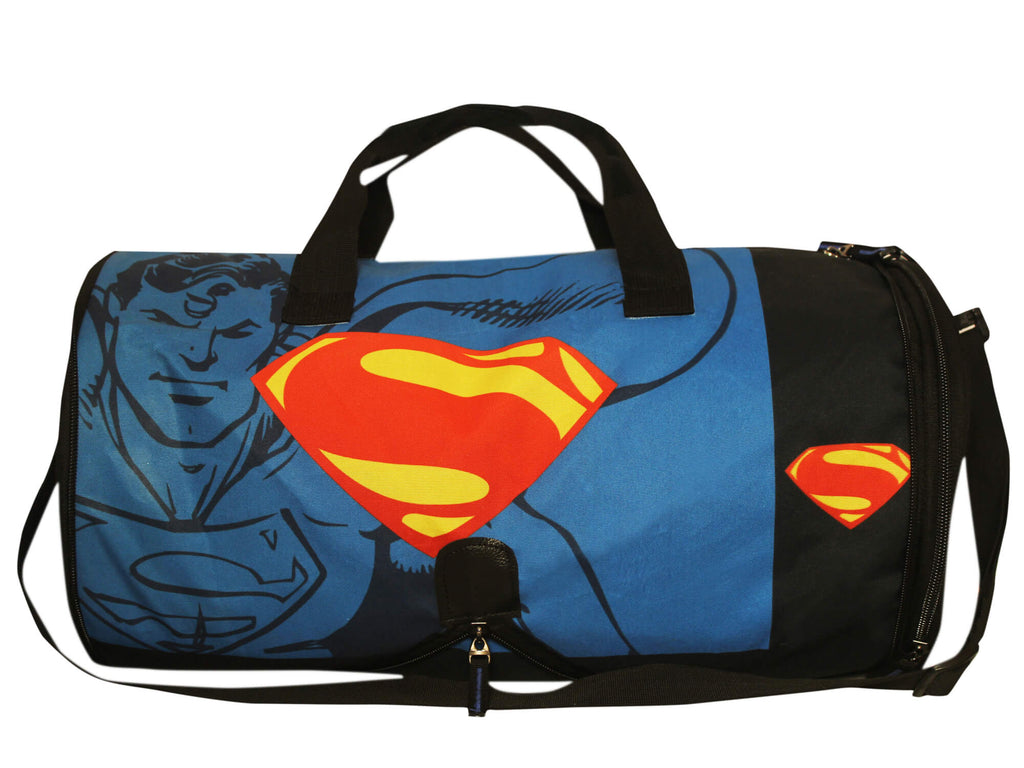 Comic superman with symbol of hope logo duffel bag black by click for more images buycottarizona Image collections