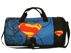 Comic Superman with Symbol of Hope Logo Duffel Bag - Black