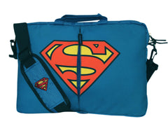Superman Symbol of Hope Logo Laptop Sleeve - Blue