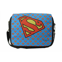 Superman Logo Motif Sling Bag - Multicolor