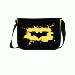 Batman The Dark Knight Yellow Logo Sling Bag - Multicolor