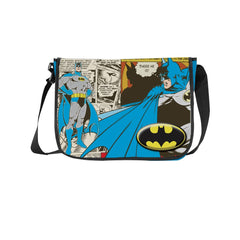 Batman Comic Collage Sling Bag - Multicolor