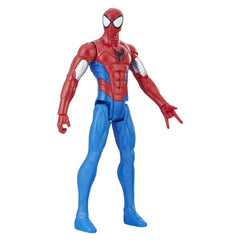 Spiderman 12 Inch Titan Hero Series Power Armored Action Figure - Multi Color