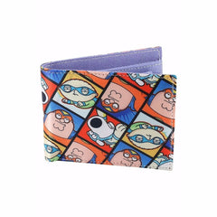 Super Griffins Satin Wallet for Men and Women - Multicolor