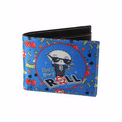 Stewie The High Roller Canvas Wallet for Men and Women - Multicolor