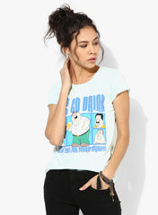 Family Guy Tee Green - Let'S Go Drink