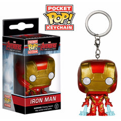 Iron Man Funko Pop Multi color Vinyl Keychain