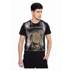 Game of Thrones Iron Sword Throne Black T-Shirt for Men