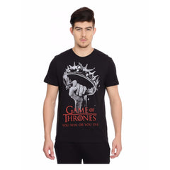 Game of Thrones Win or Die Black T-Shirt for Men