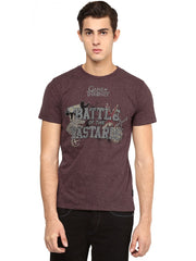 Game of Thrones Battle of The Bastards Maroon T-Shirt for Men