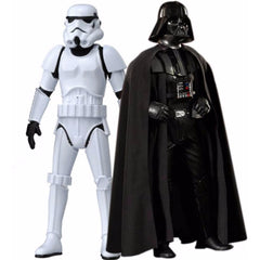 Star Wars Combo Darth Vader and Strom Trooper Big Size Action Figures - Multi Color