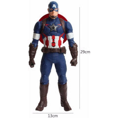 Captain America Age of Ultron with Big Musical Effect and Flashing Shield Action Figures - Multi Color