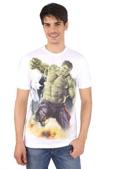Hulk Angry White T-Shirt for Men