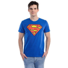 Superman Hope Logo Blue T-Shirt for Men