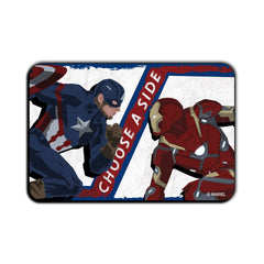 Captain America Civil War Choose A Side Fridge Magnet - Multicolor