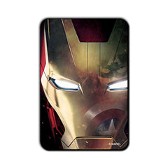 Ironman Civil War Reflection in Suit Captain America Fridge Magnet - Multicolor