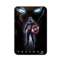 Captain America Civil War Freedom Fridge Magnet - Multicolor